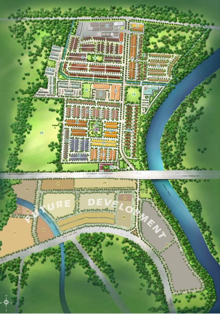 Taman Bagan - Township Development
