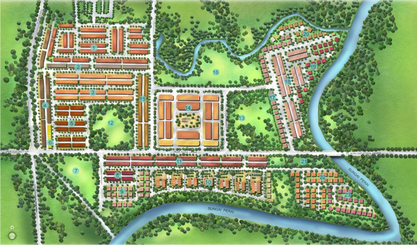 Taman Bagan Lalang - Township Development