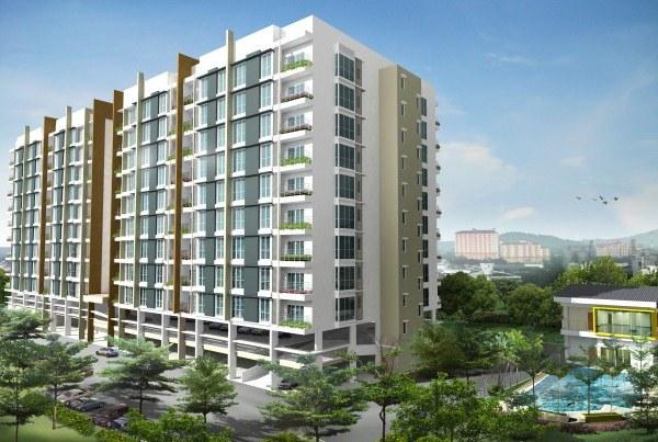Kelisa residence condominium penang property talk - Seberang jaya public swimming pool ...