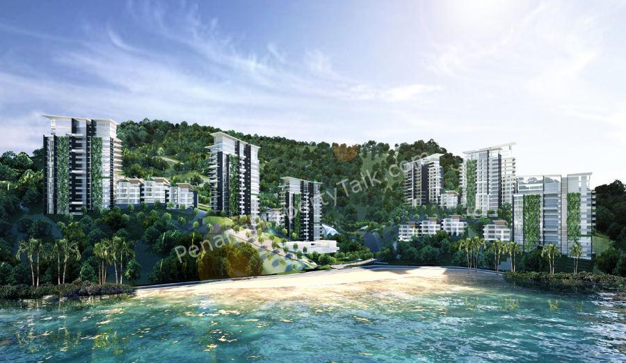 Upcoming development at Batu Ferringhi