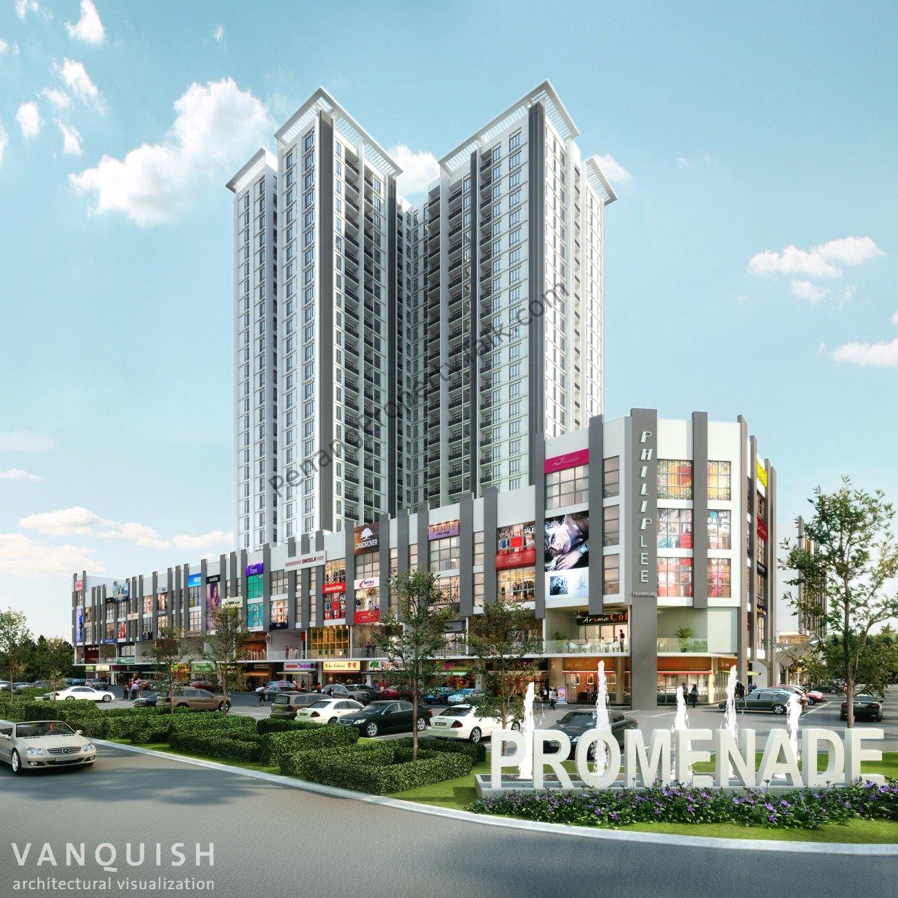 Promenade At Town Center Apartments: Penang Property Talk