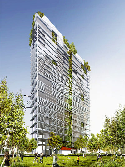 Eco-friendly project at Burmah Road